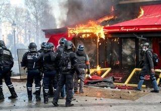 Fouquet's incendié