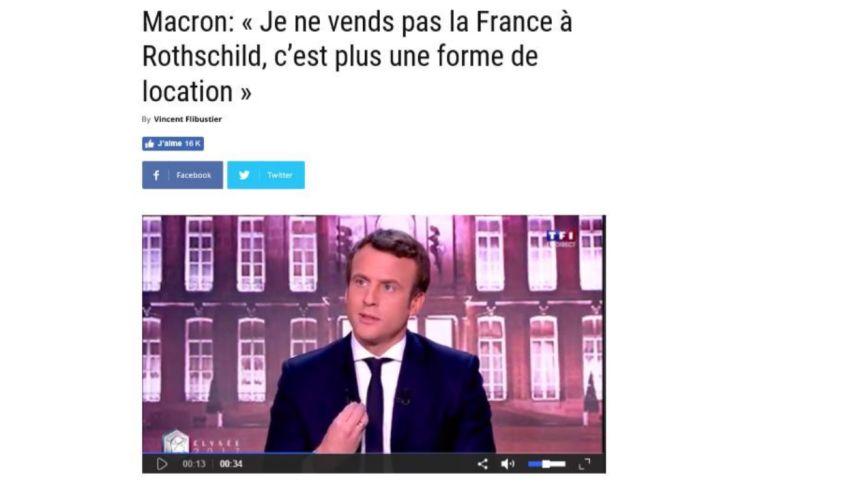Macron larbin