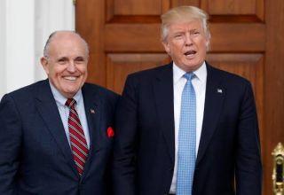 Giulani et Trump