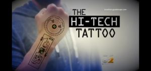 Hi-tech tattoo