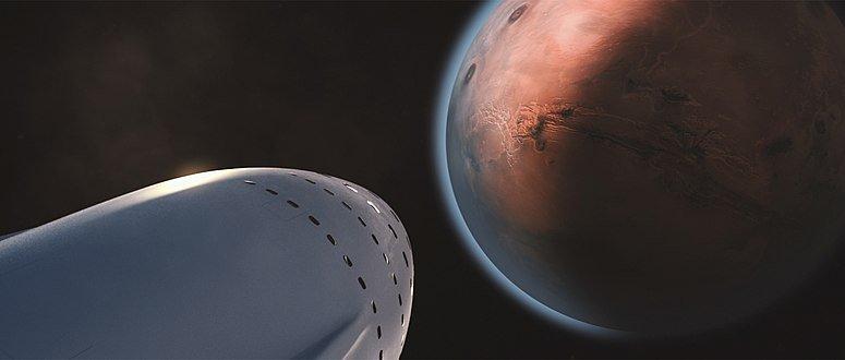 Vue d'artiste Interplanetary Transport System