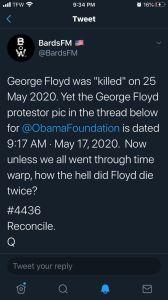 BoW Georges Floyd