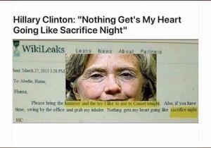 HRC sataniste