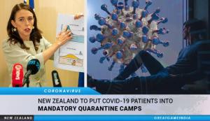 new zealand camps de quarantaine