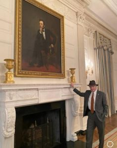 L. Wood dans la Maison Blanche